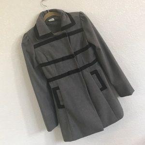 Gray women's dress coat